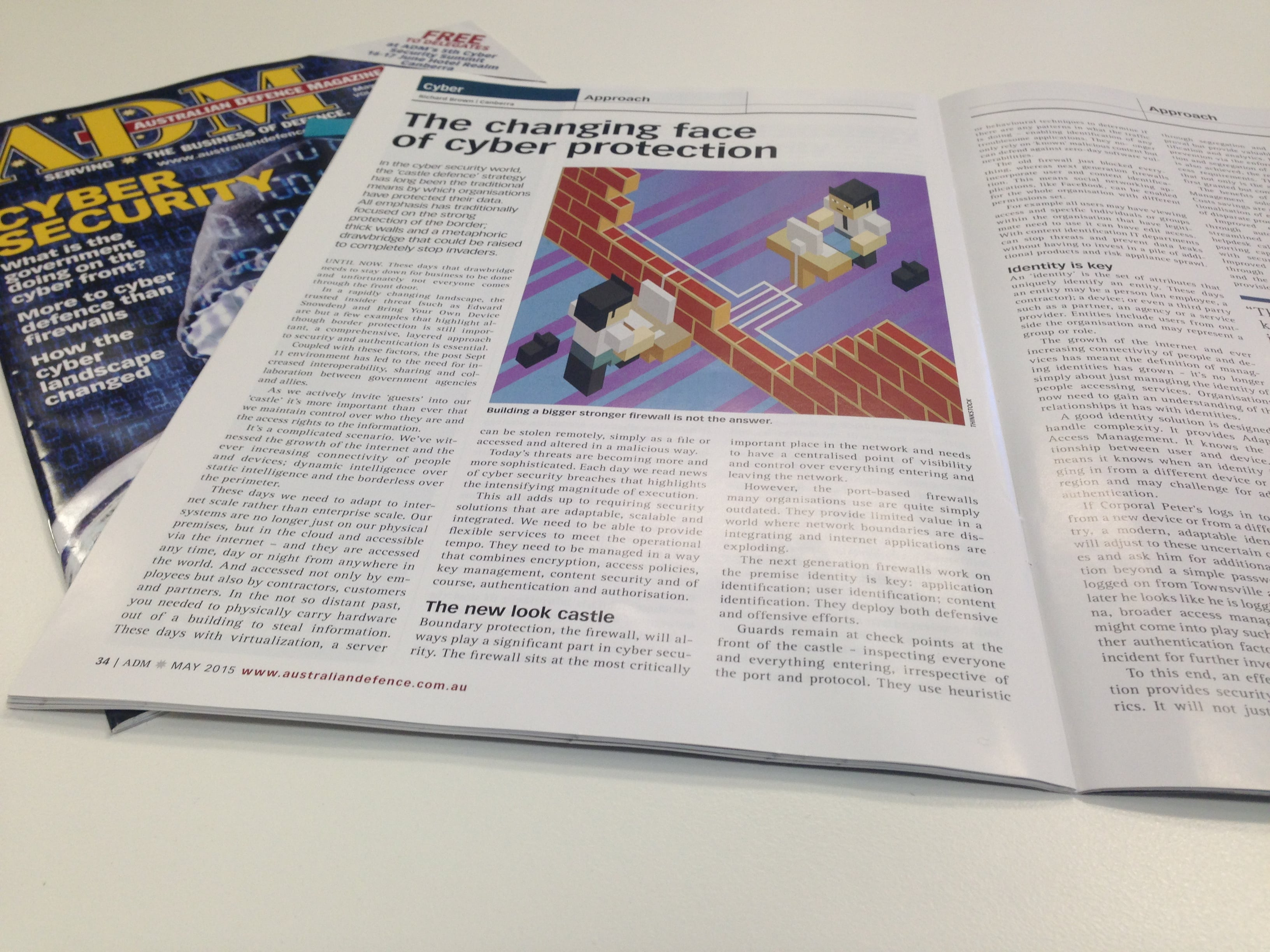 Cogito Group have an article in the Australian Defence Magazine